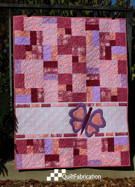 Double Jumble Butterfly quilt