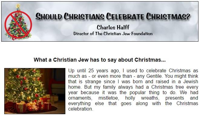 Do Jews Celebrate Christmas.Parablesblog Should Christians Celebrate Christmas Part 1