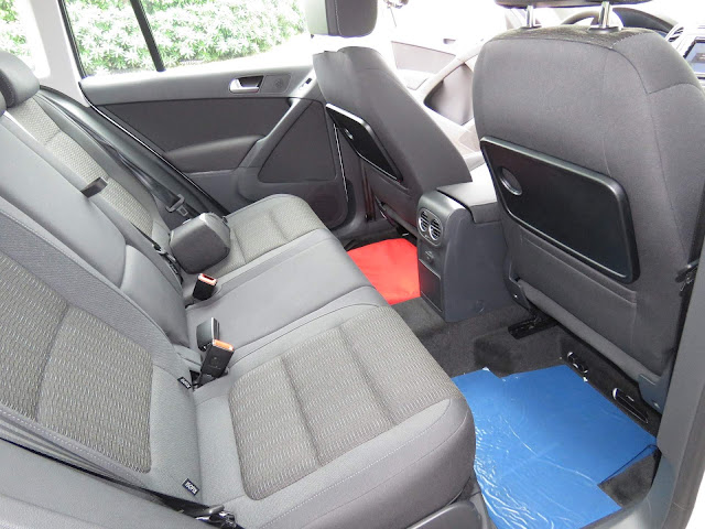 VW Tiguan 1.4 TSI 2017 - espaço traseiro
