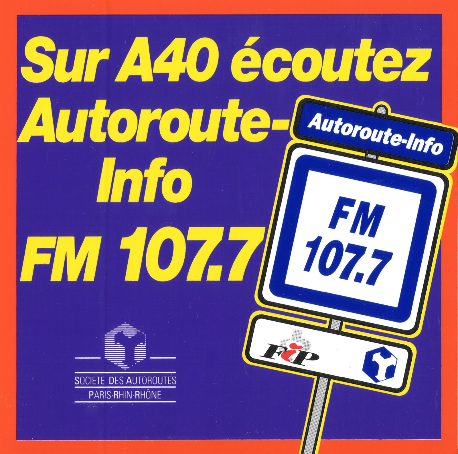 radio sticker of the day autoroute info radio. Black Bedroom Furniture Sets. Home Design Ideas