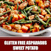 Gluten Free Asparagus Sweet Potato Chicken Skillet
