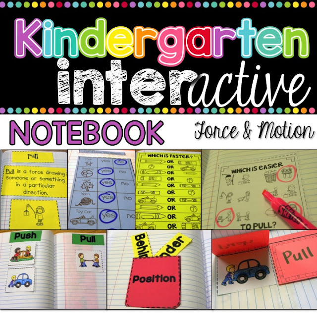 Force and Motion Interactive Notebook - Science Unit