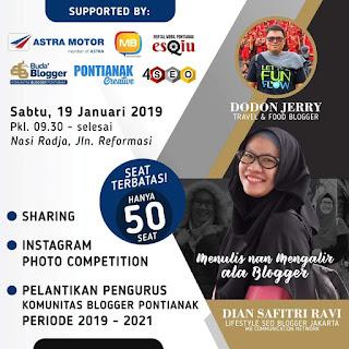 banner Kopdar blogger buda' pontianak
