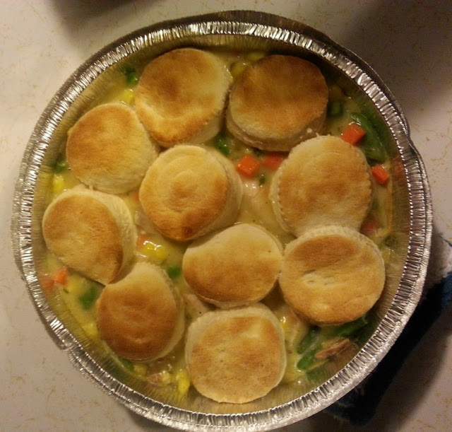 Weight Watchers Chicken Pot Pie #chicken #weightwatchers