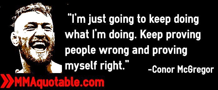 """Motivational Quotes With Pictures (many MMA & UFC): """"I'm"""