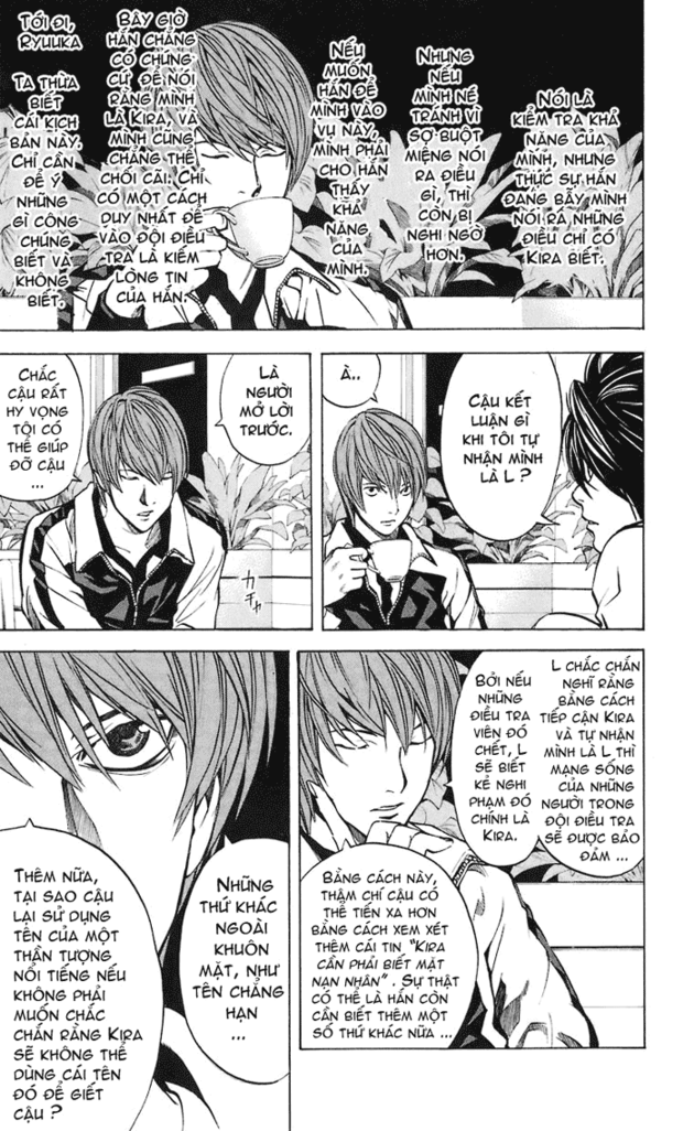 Death Note chapter 021 trang 10