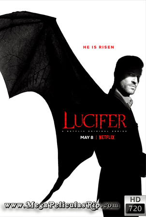 Lucifer Temporada 4 [720p] [Latino-Ingles] [MEGA]