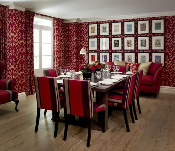 Contoh pemilihan warna cat rumah minimalis untuk desain ruang makan