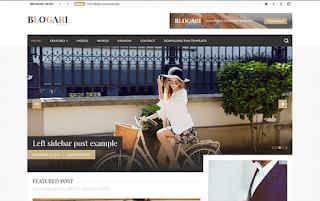 Blogari Minimal Blogger Template