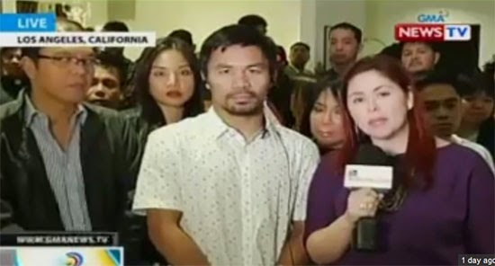 For Mary Jane Veloso's life Pacquiao made an appeal