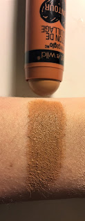 wet n wild megaglo makeup stick contour in oak's on you swatch