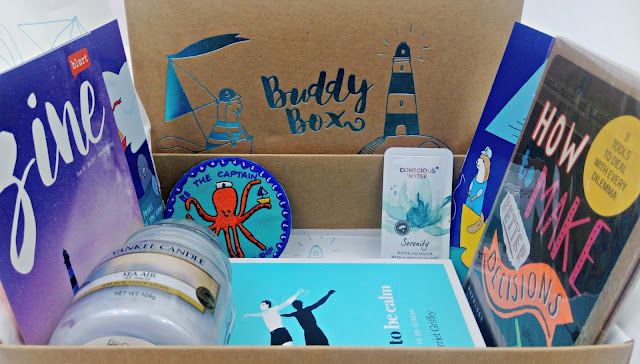 June 2017 Buddy Box Contents