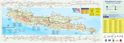 Peta Jalur Mudik Lebaran 2017 Berikut Jalur Alternatif Mudik
