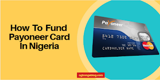 fund payoneer card in Nigeria
