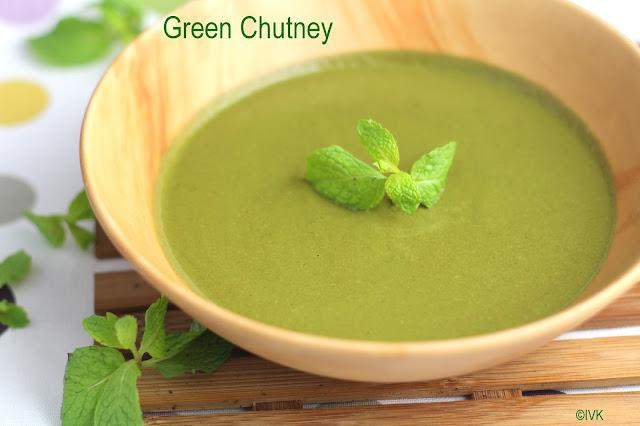 Bowl of Green Chutney