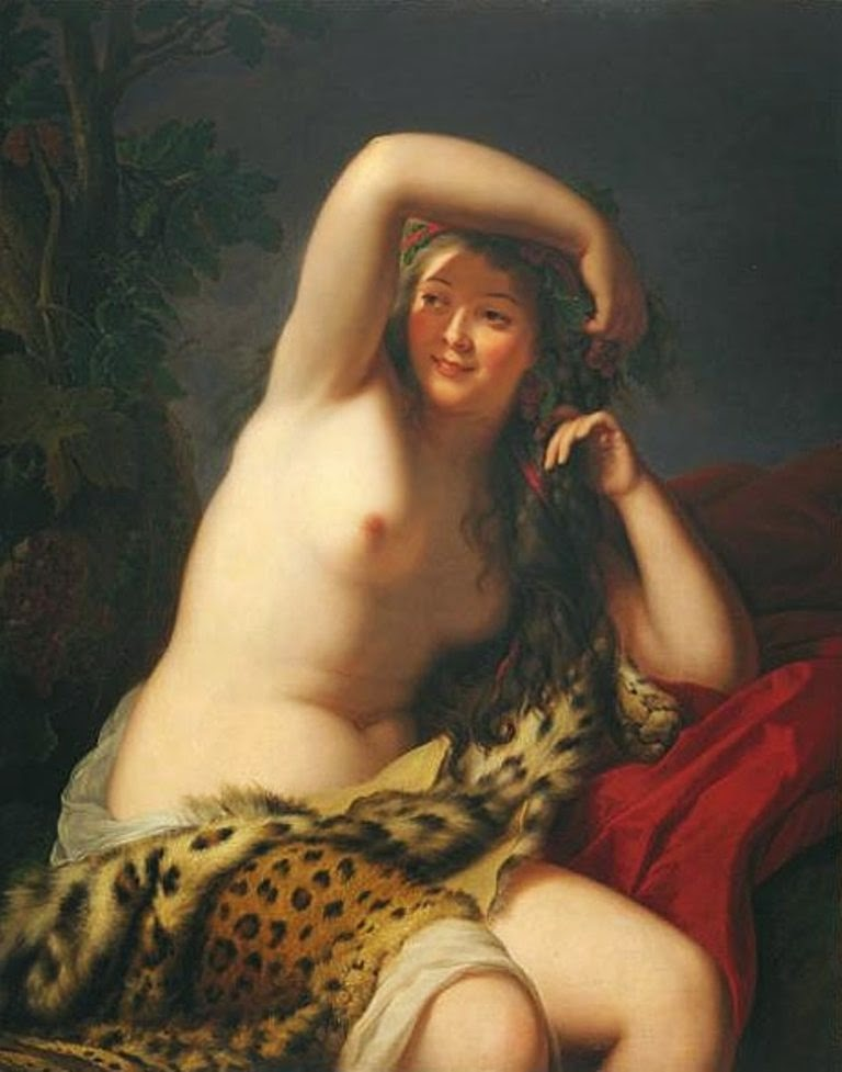 Bacchante (1785), Elisabeth Vigée-Lebrun