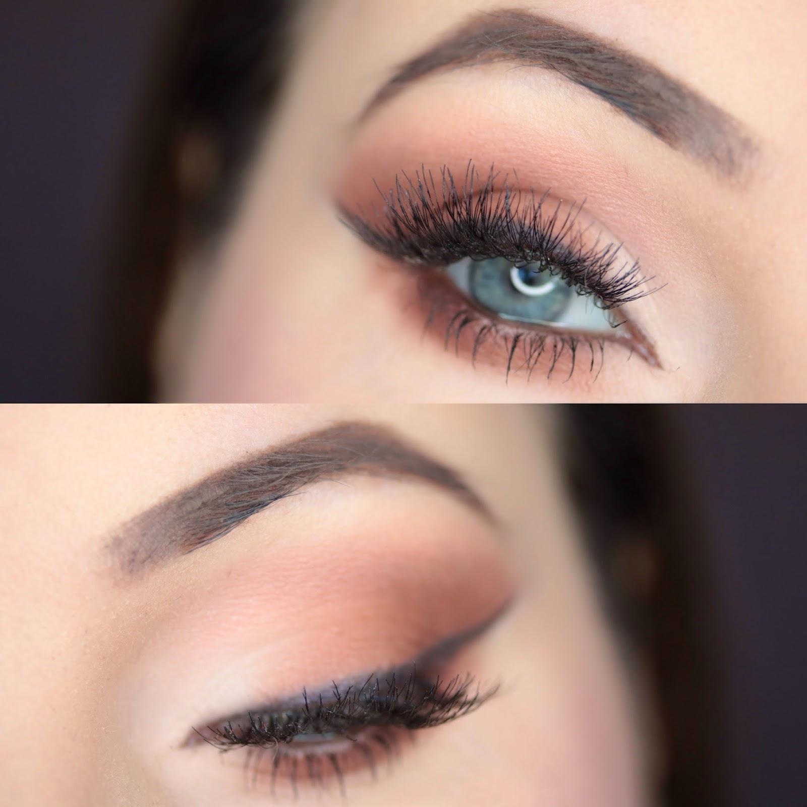 Mleczno - Brązowe Smokey Eye