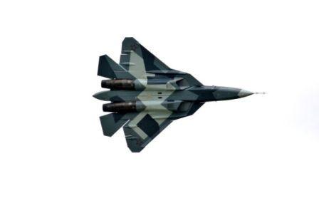 Pesawat tempur generasi kelima Rusia