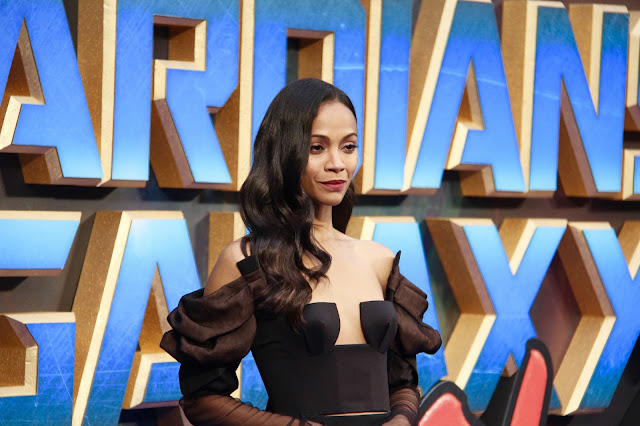 Zoe Saldana Guardians of the Galaxy Vol.2