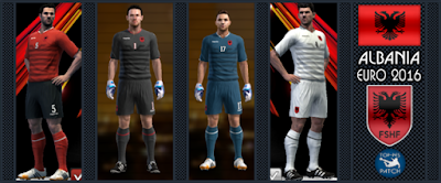 PES 2013 Albania national football team EURO 2016 by Radymir