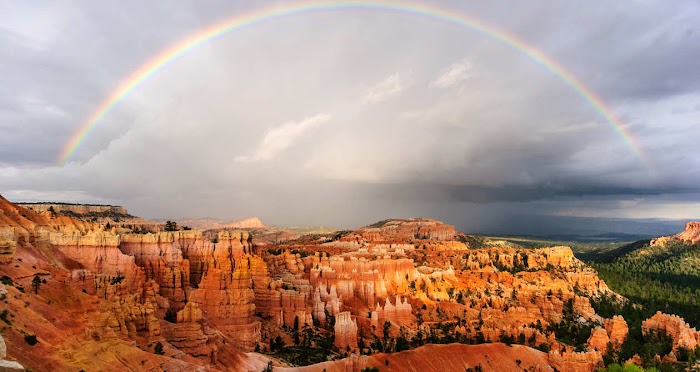 explore to amazing place in the world Bryce Canyon the rock forest