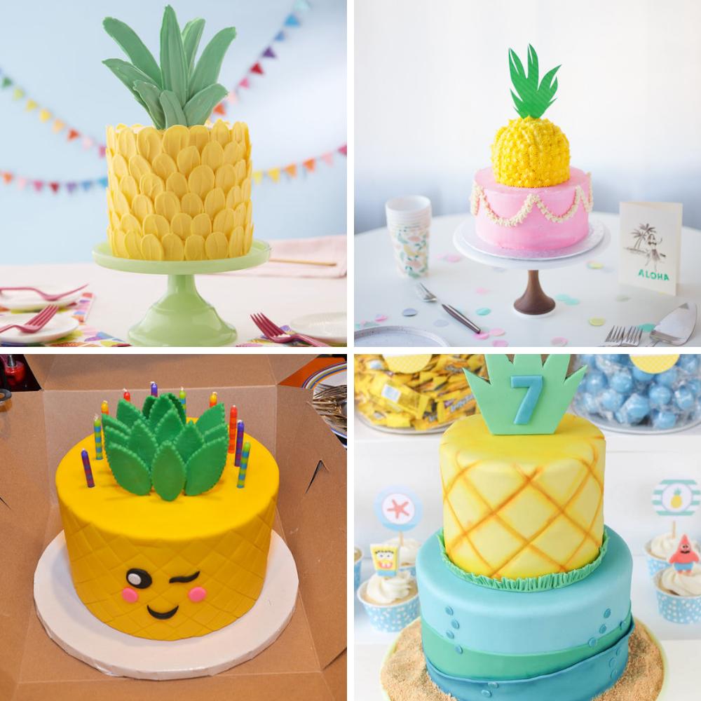 pineapple birthday decorations