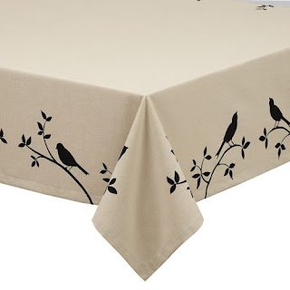 Bird tablecloth