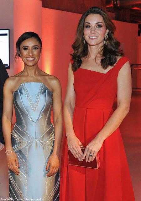 Znalezione obrazy dla zapytania duchess kate Royal Foundation Dinner