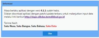 Download Aplikasi Dapodik Versi Terbaru Semester 1 Tahun Pelajaran 2016/2017