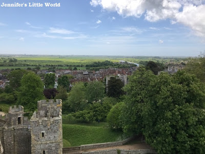 Arundel Castle view from tower