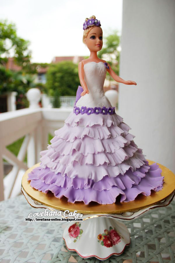 Www Loveliana Online Blogspot Com Barbie Doll Cake Class For Beginner