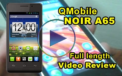QMobile NOIR A65 Video Review in Urdu (Full length