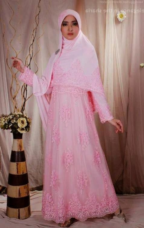20 Contoh Model Baju Pengantin Muslim Ini Bikin Ngileeer Aja