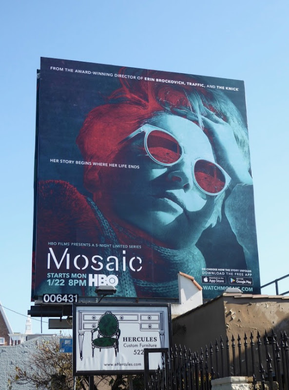Mosaic limited series billboard