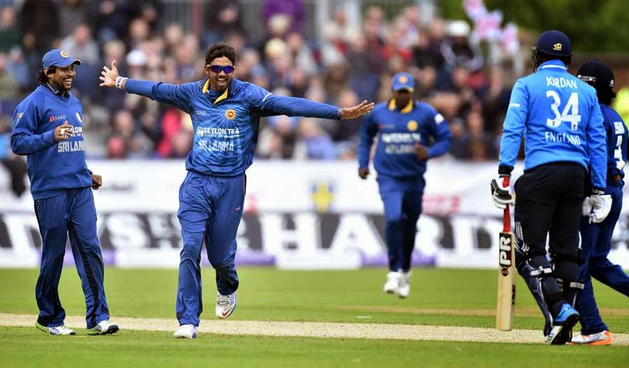 Sri Lanka beat England by 157 runs in the 2nd ODI
