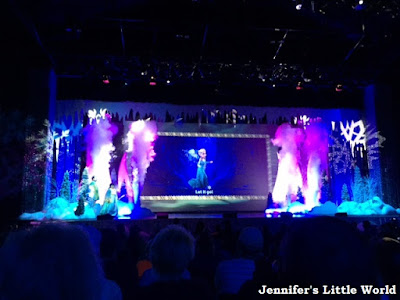 Frozen singalong show at Disney World Orlando