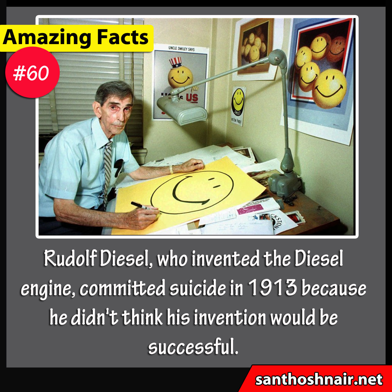 Amazing Facts #60 - The Smiley Artist