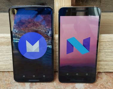 Android N vs Android 6.0 Marshmallow