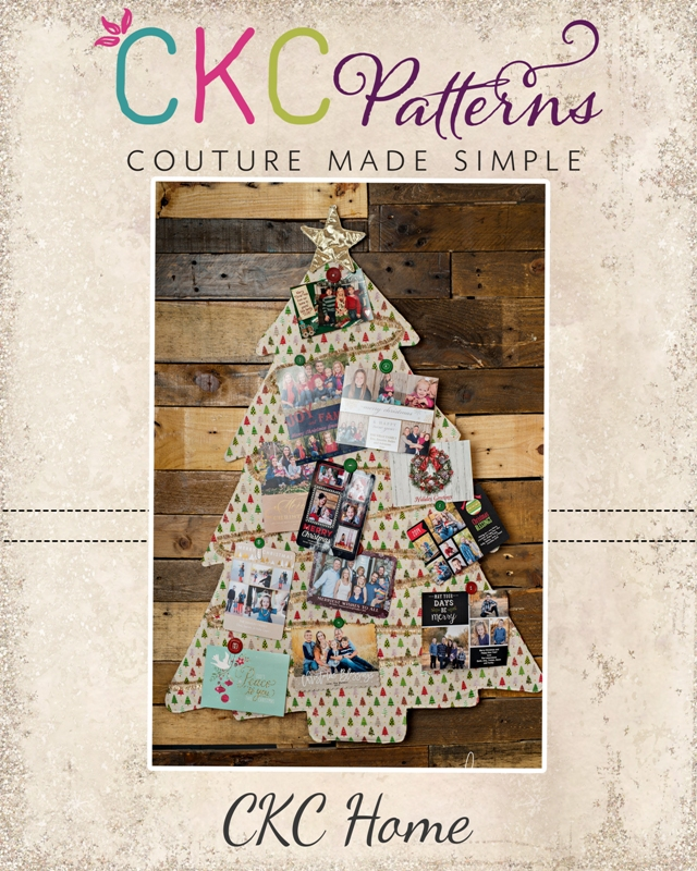 Create Kids Couture: 2nd Day of Christmas: Christmas Card Holder