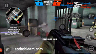 Download Game Android Terbaik Bullet Force Full APK+Data