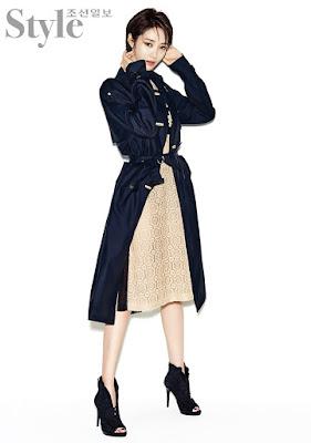 Go Joon Hee Style Chosun March 2016