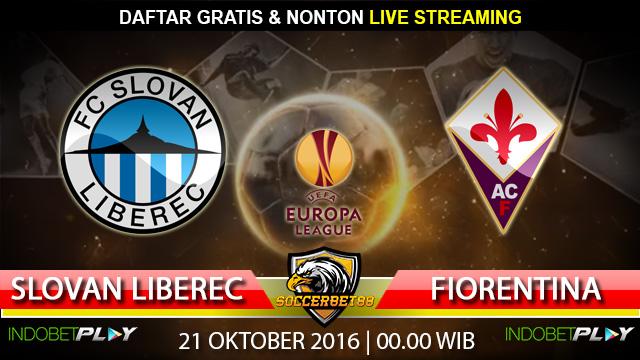 Prediksi Slovan Liberec vs Fiorentina 21 Oktober 2016 (Liga Eropa)