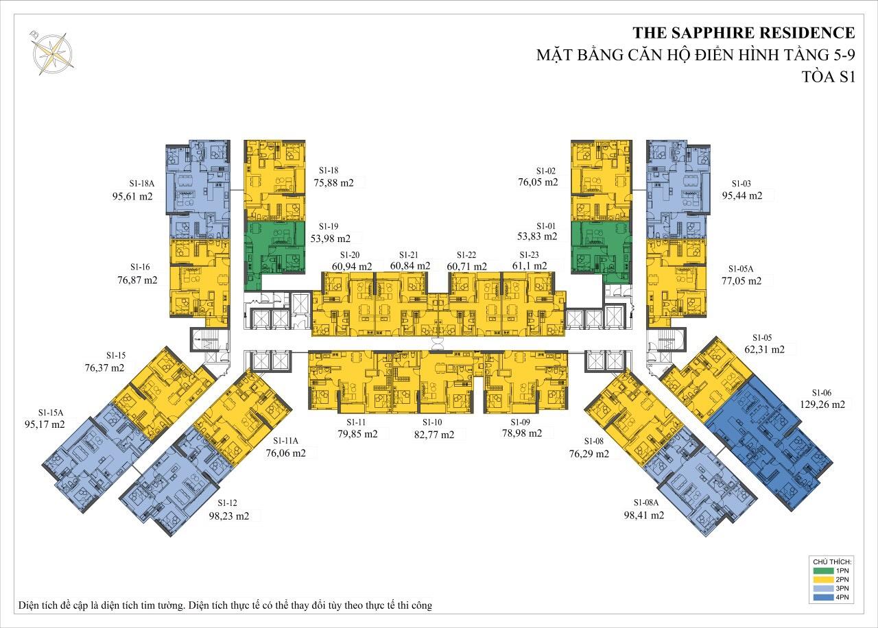 Mat-bang-chung-cu-the-sapphire-residence