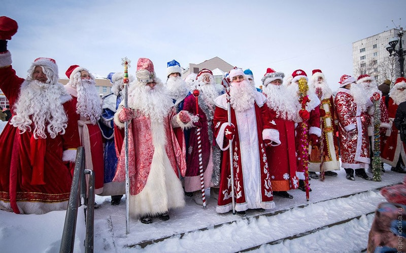 Дед Мороз заработок