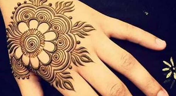 Mehndi Patterns Images : Simple mehndi designs step by beauty health fashion