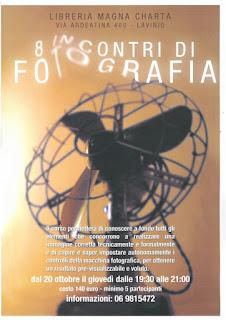 8 incontri di fotografia, Libreria Magna Charta
