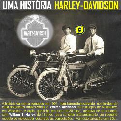 A história Harley-Davidson