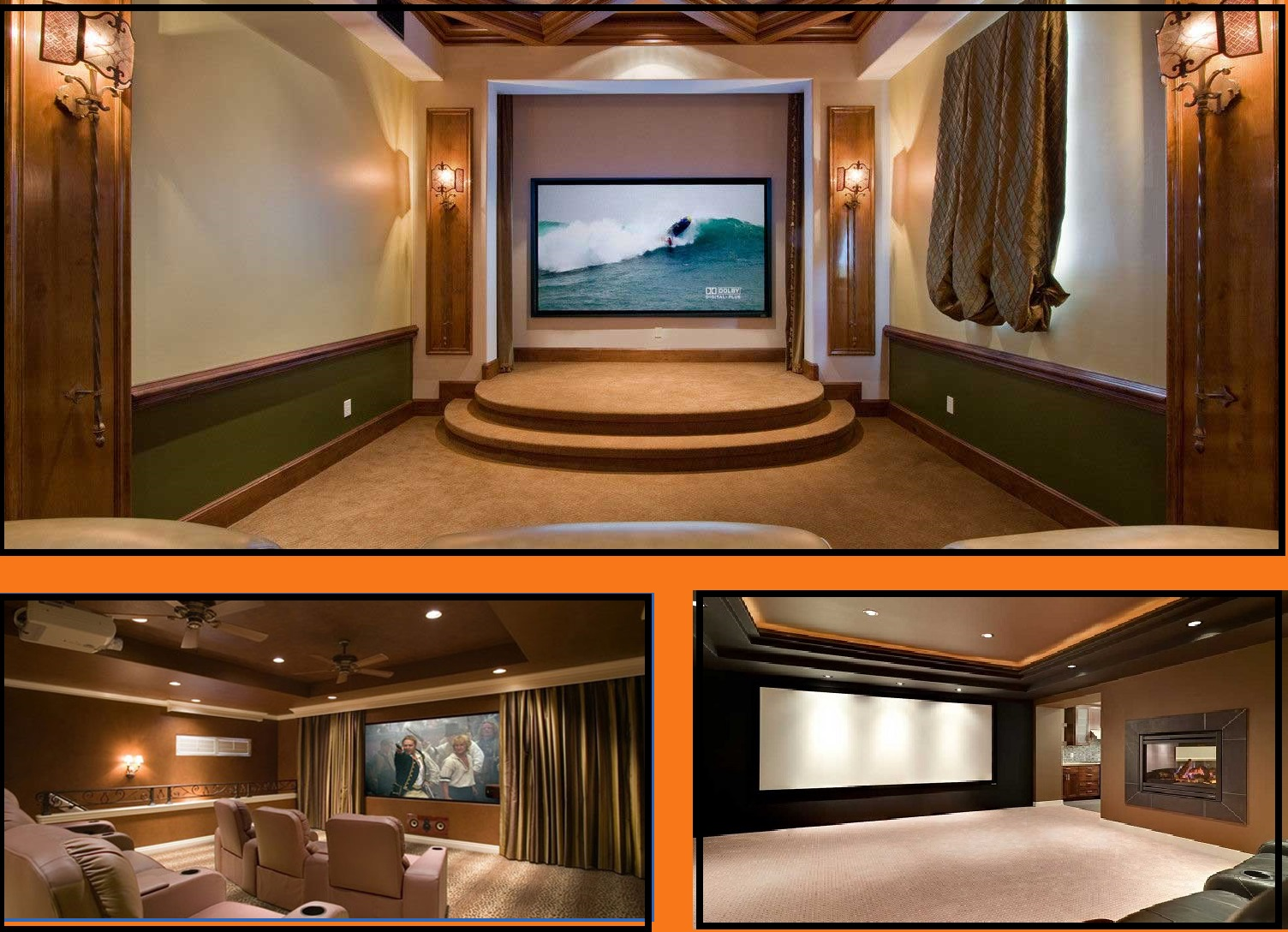 Bring A Luxury Touch To Your House With Theater