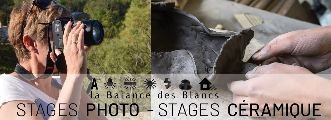 STAGES PHOTO | CÉRAMIQUE - DRÔME