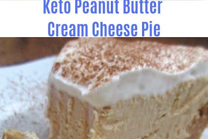 Keto Peanut Butter Cream Cheese Pie